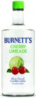 Burnett's Vodka Cherry Limeade 750ml - Case of 12